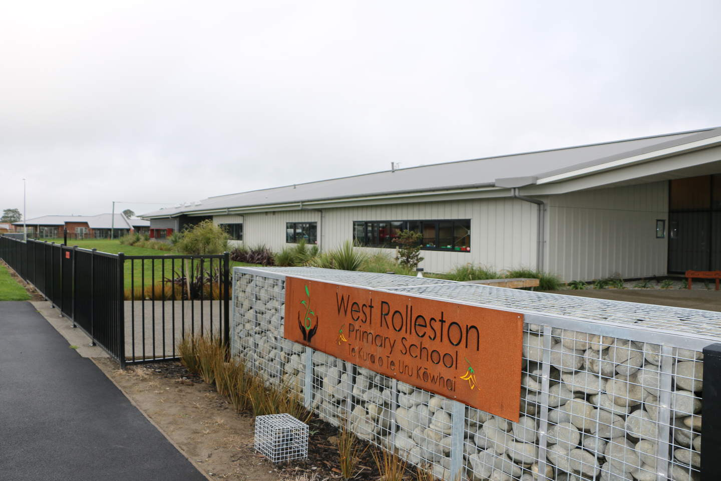 West Rolleston Primary School opened at the beginning of 2016 - one of four primary schools catering to the growing population