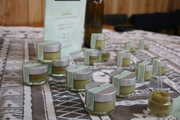 Ointments and balms made from native plants