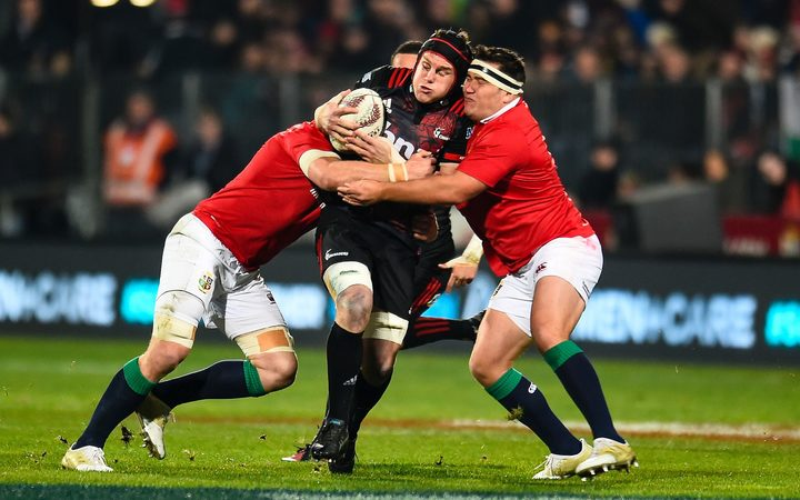 Owen Farrell kicks British & Irish Lions to victory over Crusaders