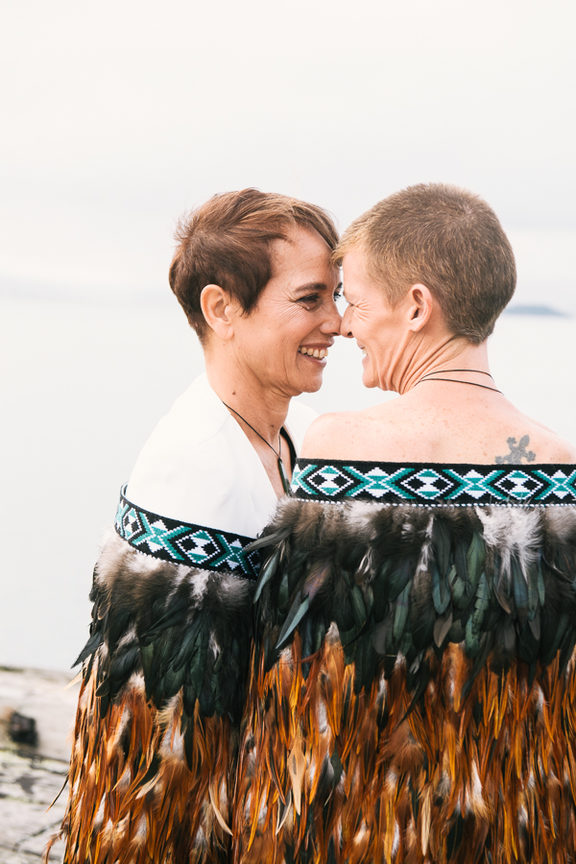 Anna Renwick, left, and Storm Baker were married this month, after believing marriage equality would never happen in their lifetime