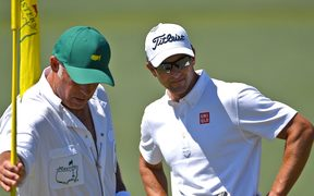 Steve Williams and Adam Scott.