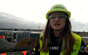 Kaikoura temporary workers village nearly completed