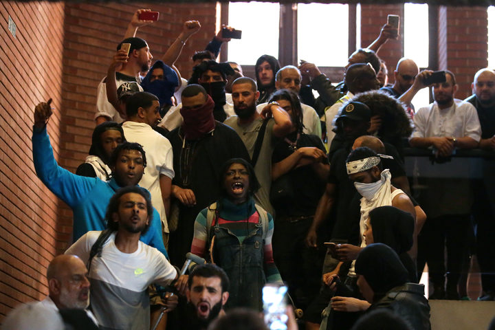Protesters stormed Kensington Town Hall, demanding justice for those affected by the fire that gutted Grenfell Tower.