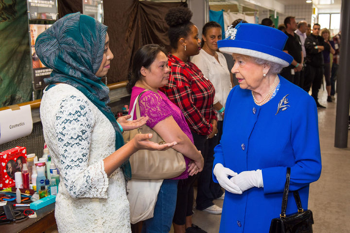 The Queen meets members of the community affected by the Grenfell Tower disaster.