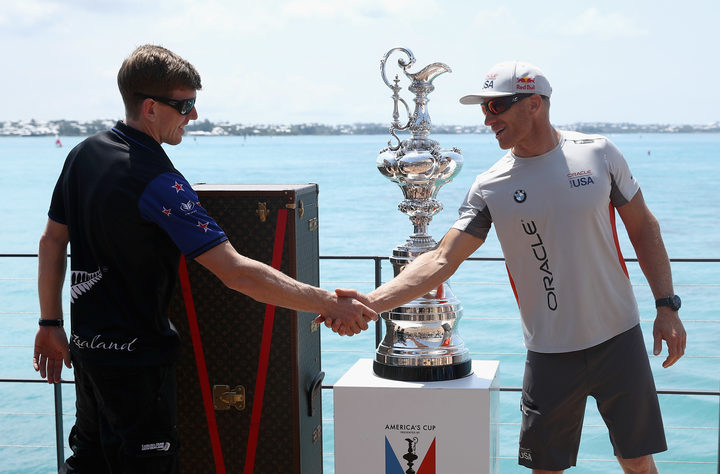 Ocean Unfriends Team New Zealand In America's Cup