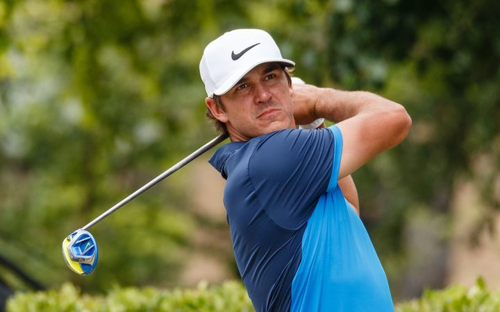 美国高尔夫球手Brooks Koepka。