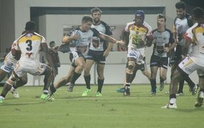 The PNG Hunters were upset at home by the bottom-placed Tweed Heads Seagulls.