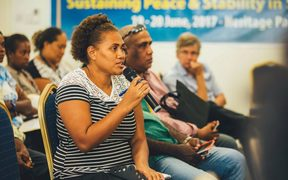 United Nations facilitating talks in Solomon Islands to build confidence among the people as the Regional Assistance Mission prepares to leave.