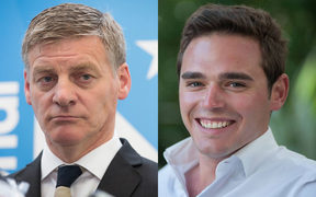 Bill English (left) and Todd Barclay