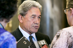 New Zealand First Winston Peters 21 June 2017