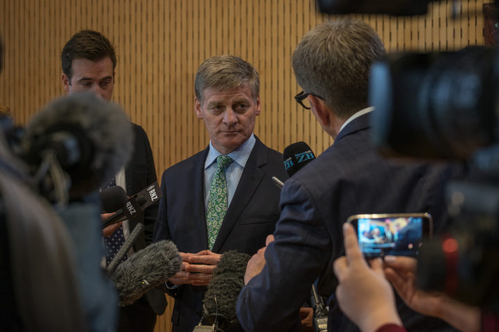 Prime Minister Bill English says he's happy with the gender balance of his caucus.