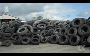 Govt announces solution to tyre stockpiles