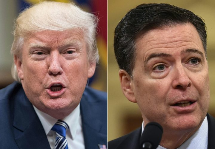 Trump admits he did not record Comey conversations