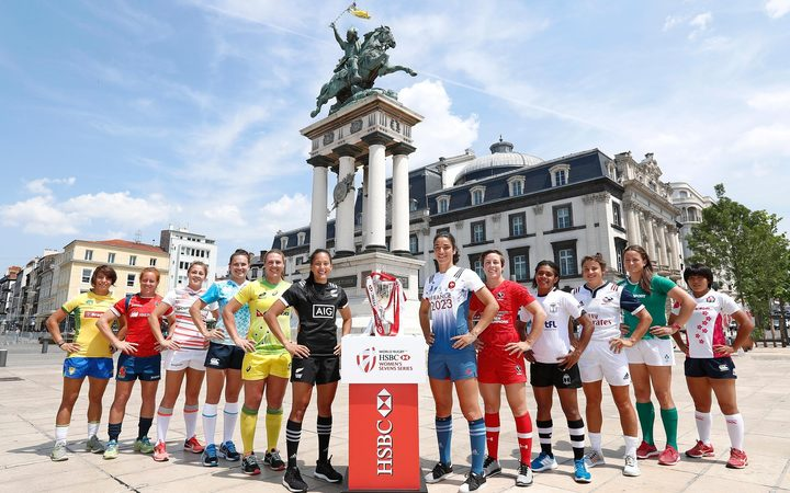 The12 team captains gather in Clermont-Ferrand ahead of the last round of the World Series.