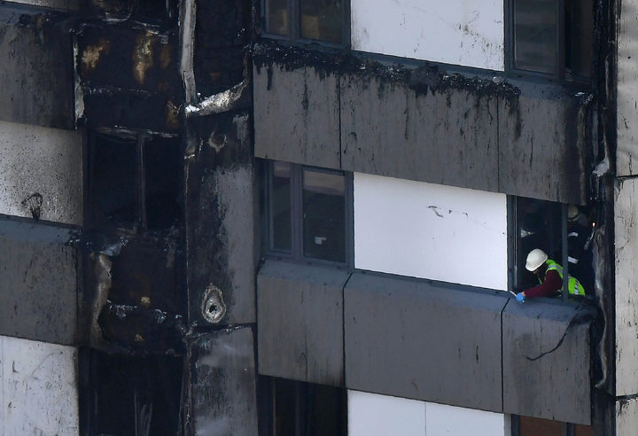 Grenfell Tower blaze started in Hotpoint fridge freezer, say police