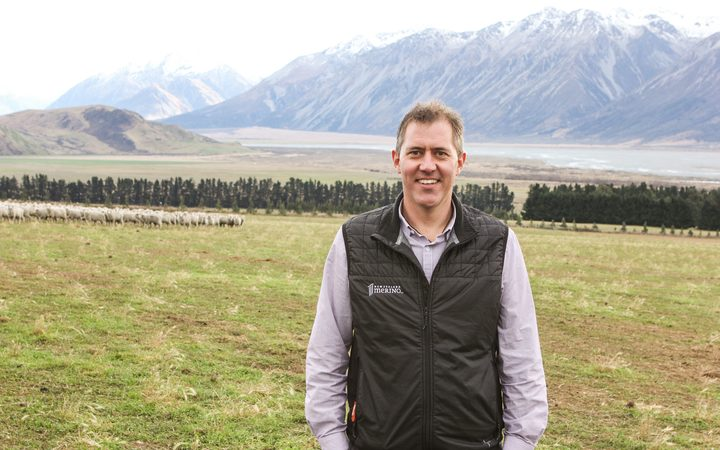New Zealand Merino's scientist Mark Ferguson.