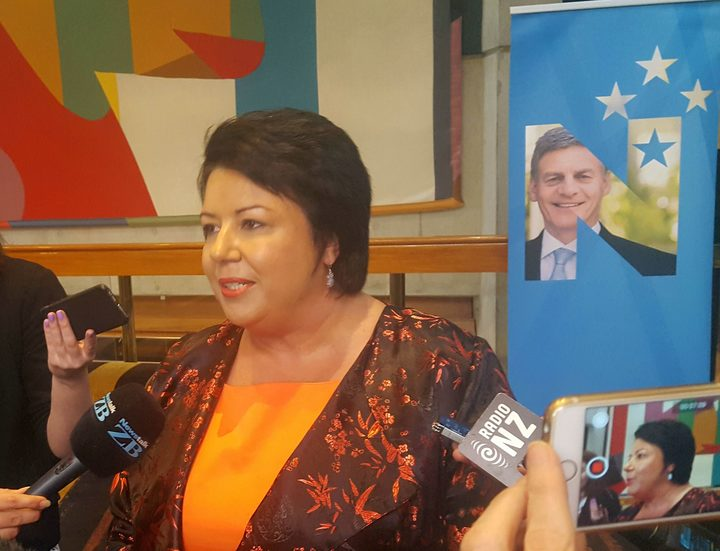 Paula Bennett at the National Party annual conference in Wellington.