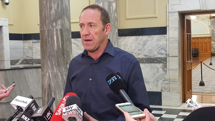 Andrew Little last week described the Todd Barclay affair as an absolute disgrace and shambles.