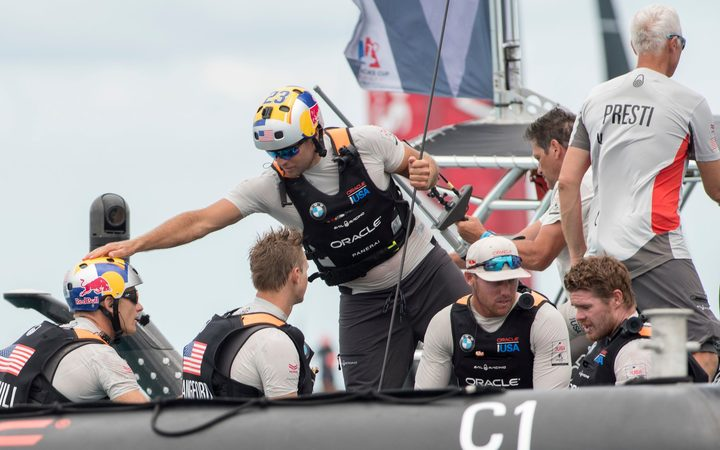 America's Cup: Team USA have hope after first victory