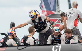 Oracle skipper Jimmy Spithill says he's prepared to hand over the helm.