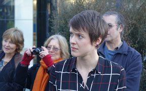 Law student Sarah Thomson is taking the government to court over its action on climate change.