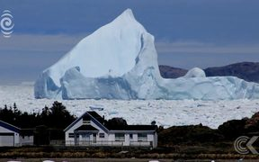 Icebergs most beautiful and vulnerable at the end of their lives