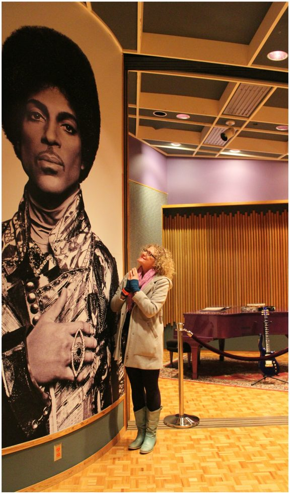 Georgia in Paisley Park's Studio B