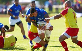 Samoa beat Tonga 30-10 in Apia during the 2016 Pacific Nations Cup.