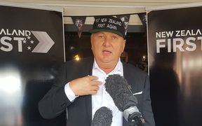 Shane Jones announces he is standing for NZ First.