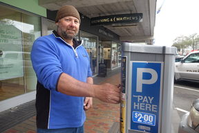 Brent Purvis thinks the council gets enough money from ratepayers without reintroducing paid parking on a Saturday.