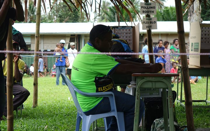PNG voters have experienced problems with the electoral roll and polling schedule in the 2017 election.
