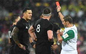All Black Sonny Bill Williams is red carded