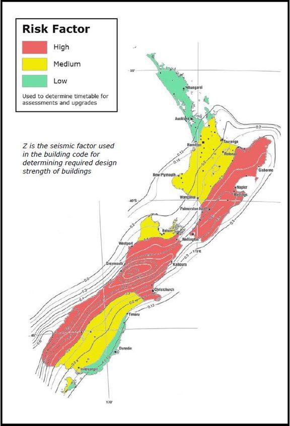 quake-prone building law.