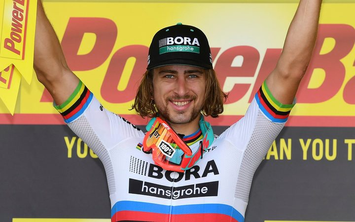 Slovakian cyclist Peter Sagan.