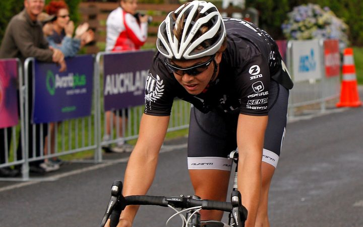 New Zealand cyclist Dion Smith.