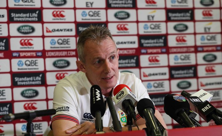 Lions assistant coach Rob Howley