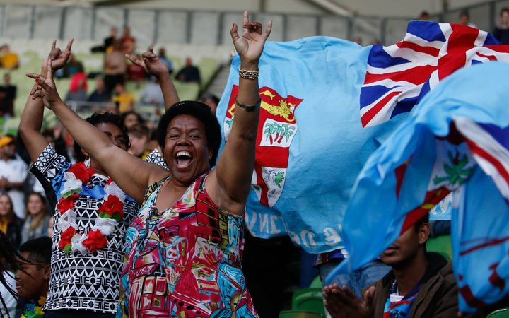 Fiji beats Tonga 14-10 to qualify for Rugby World Cup