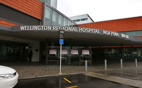 Capital & Coast DHB chairman Andrew Blair announced the donation at an event outside Wellington Hospital.