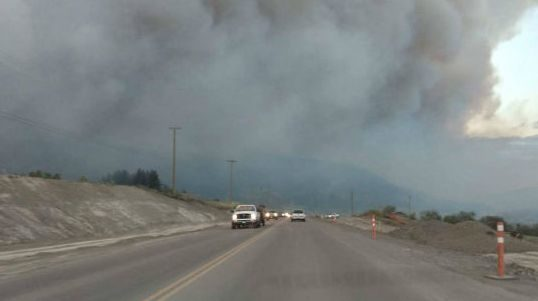 Some 14,000 people have been evacuated in British Columbia.