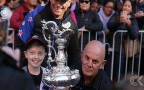 America's Cup tours the Capital: RNZ Checkpoint