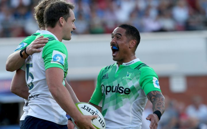 Ben Smith (L) and Aaron Smith