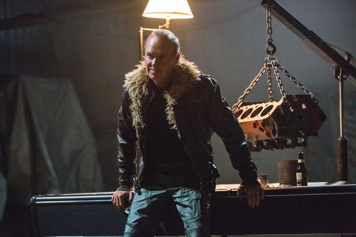 Michael Keaton is a Soprano-like New Jersey blue collar criminal (aka The Vulture) in Spider-Man: Homecoming
