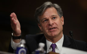 FBI Director nominee Christopher Wray testifies during his confirmation hearing before the Senate Judiciary Committee. 