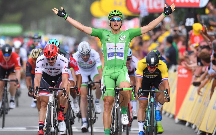 Marcel Kittel claims another stage win on the Tour de France.