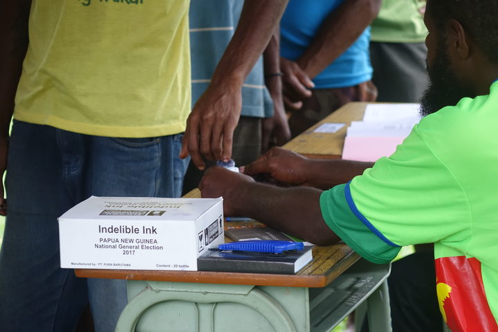 Papua New Guinea national election 2017.