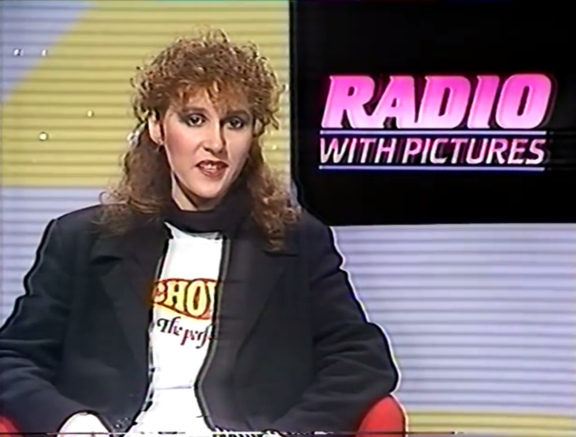 Karyn Hay presenting Radio With Pictures