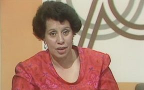 Marama Martin appears on Telethon in 1981.