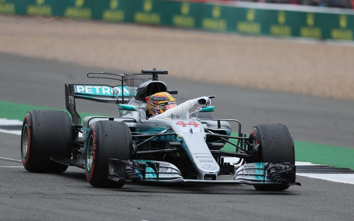 Lewis Hamilton for Mercedes