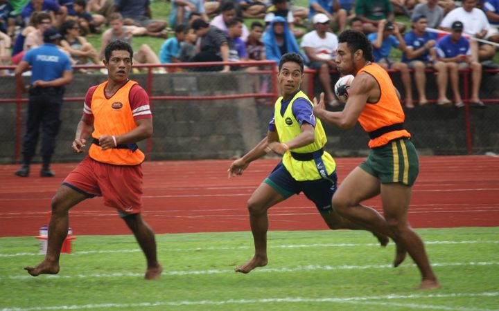 Samoan youth take part in Quick Rip
