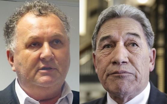 Shane Jones (left) and Winston Peters appear to be at odds over whether Māori seats should be voted on in a referendum.